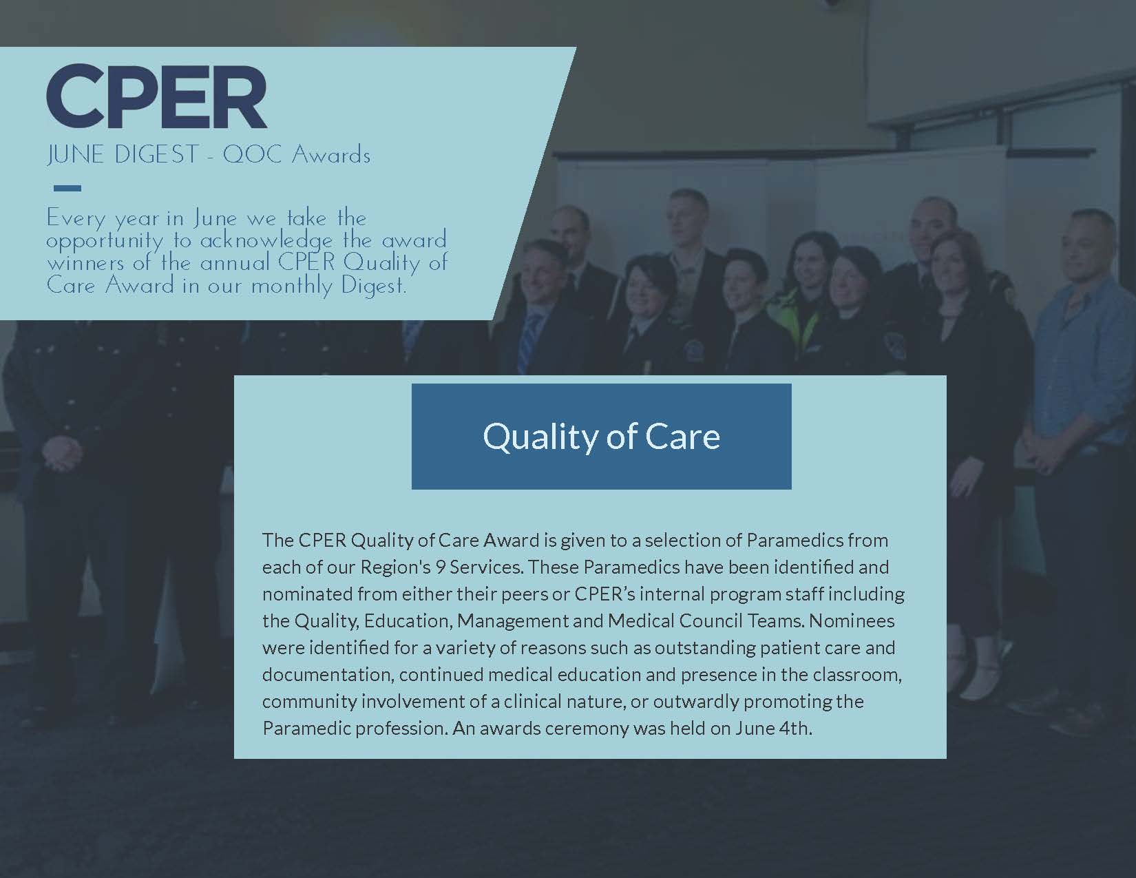 CPER Digest June 2019 QoC Awards Page 1