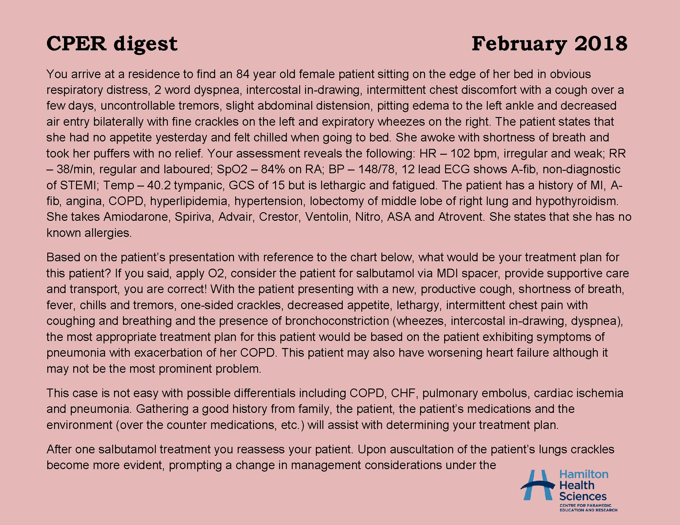 CPER digest February 2018 Page 1