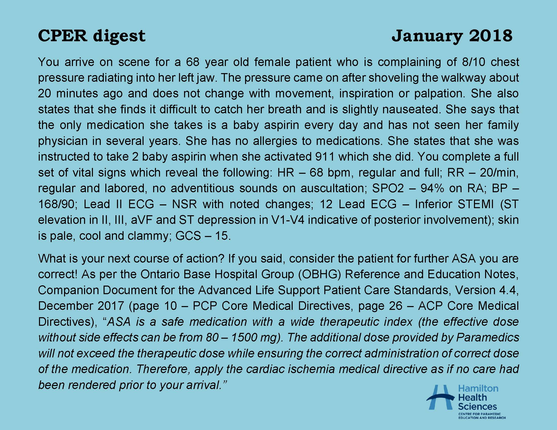 CPER digest January 2018 Page 1
