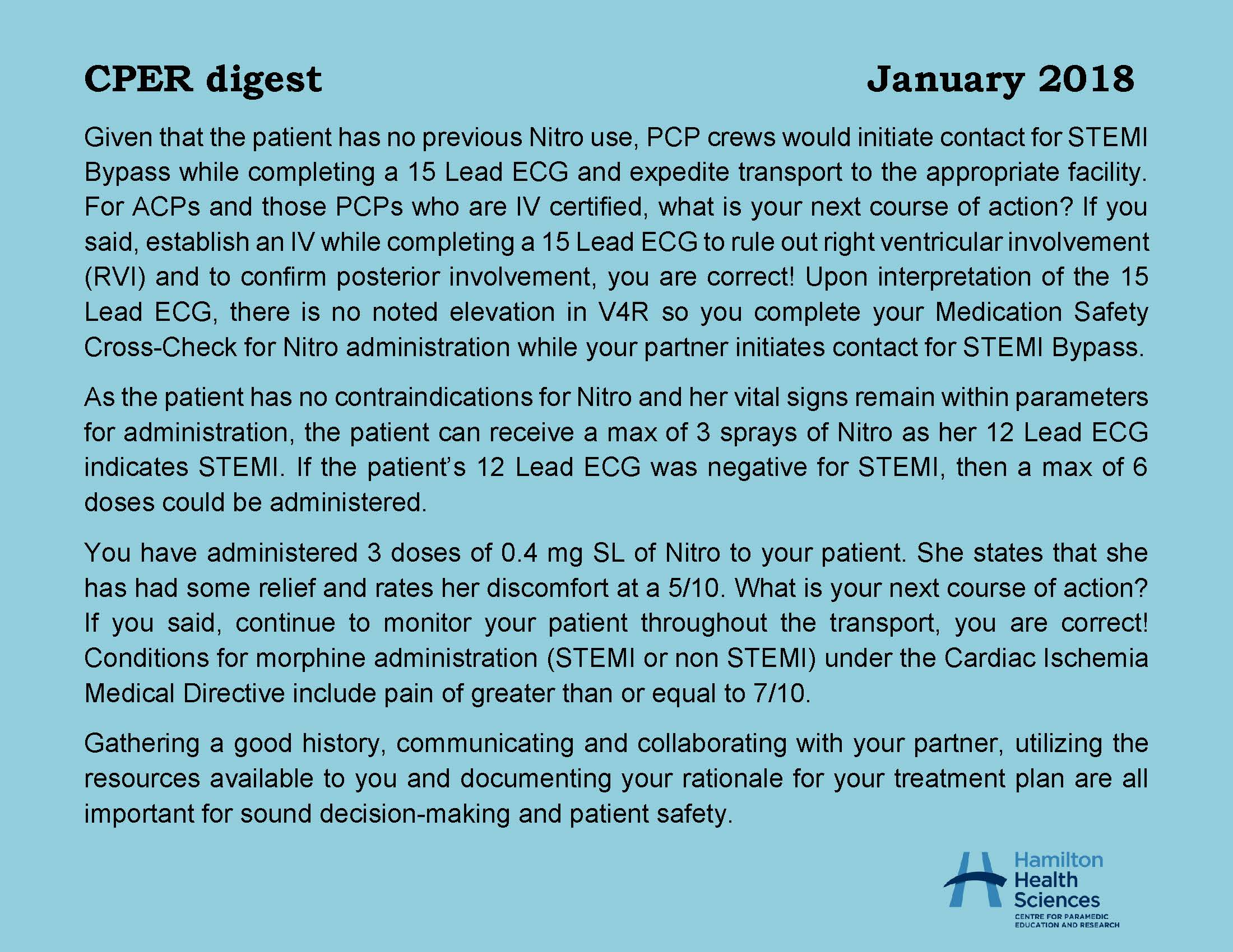 CPER digest January 2018 Page 2