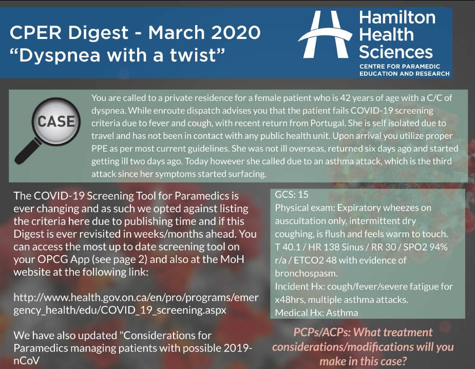 CPER digest March 20201