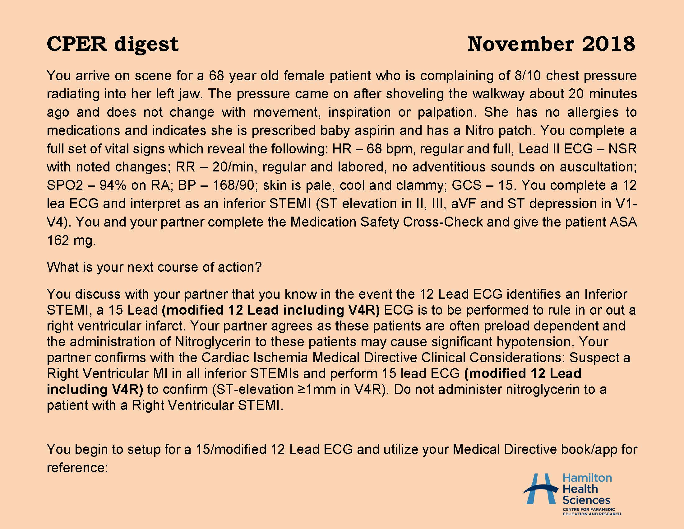 CPER digest November 2018 Page 1